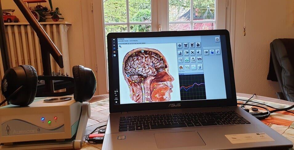 aumscan Rouen ordinateur écran Consultation biorésonance soins énergétiques quantiques soins énergétiques